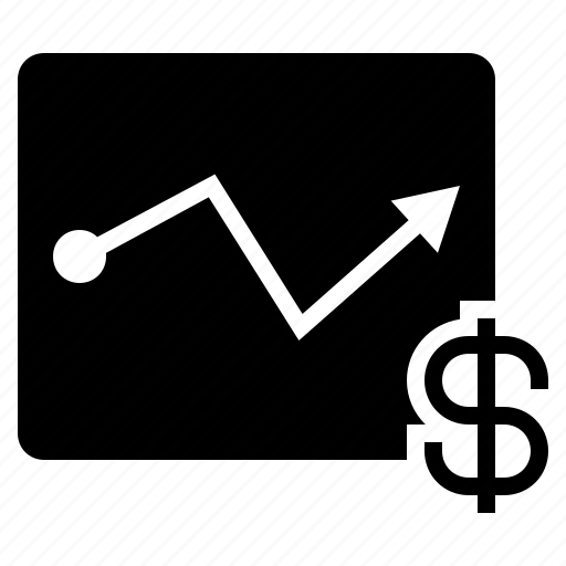 business graph, business performance, business report, more profit icon