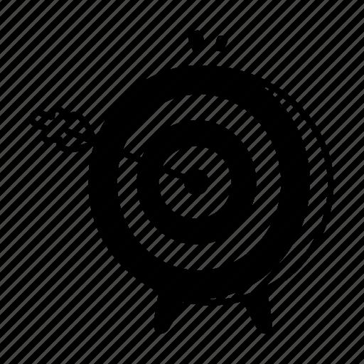 aim, arrow, business, goal, marketing, sales, target icon