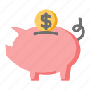 business, finance, piggy bank, savings