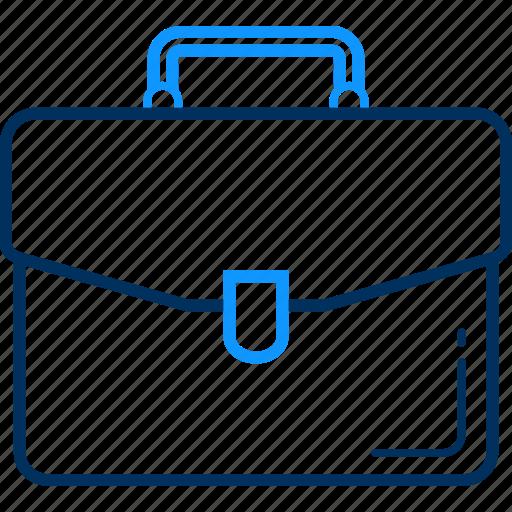 bag, business, finance, office, portfolio, profile icon