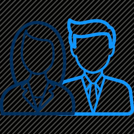 female, male, person, user icon