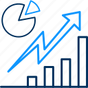 business, chart, diagram, grow, growth, report icon