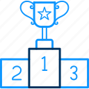 cup, stage, trophy, win, winner, winning icon