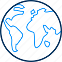 globe, gps, location, map, navigation, world icon
