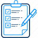 business, clipboard, graph, item, list, point, points icon