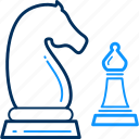 business, chess, management, strategy icon