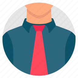 avatar, businessman, face, human, mannequin, tie, user icon