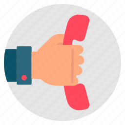 advice, handset, phone, support, telephone icon