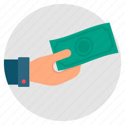 cash, donate, donation, money, payment, salary icon