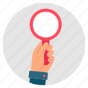 inspection, investigation, look, search, spy icon