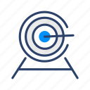 target, aim, business, goal, shooting, shoot icon