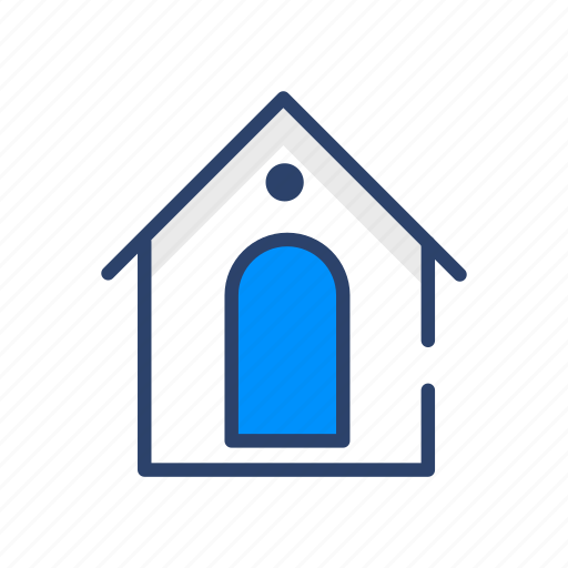 Home, building, estate, house, property, real icon - Download on Iconfinder