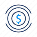 bank, cash, dollar, money, payment icon