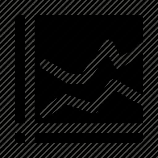 chart, diagram, graph, growth, line, progress, report icon