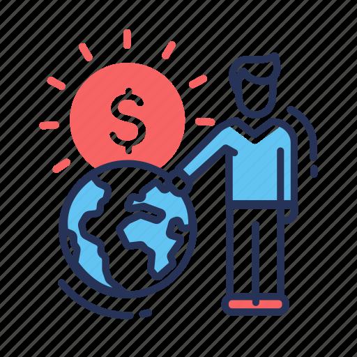 analytics, business, finance, international, payment, report icon