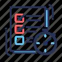 todo, check, checklist, checkmark, document, list, paper