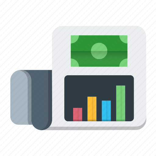 business, chart, data, graph, report icon