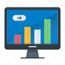 business, graph, growth, report, statistics icon