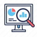 analytics, business, finance, marketing, statistics icon