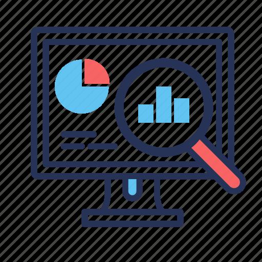 analytics, business, finance, marketing, statistics icon