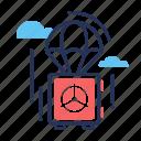care, insurance, safe, security, umbrella icon