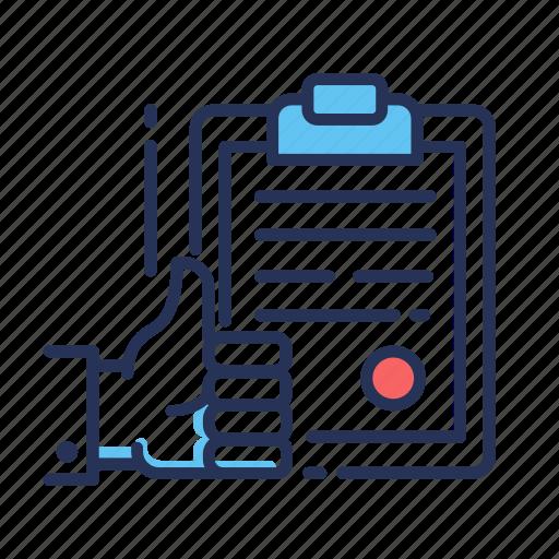 configuration, control, doc, document, preferences, quality icon