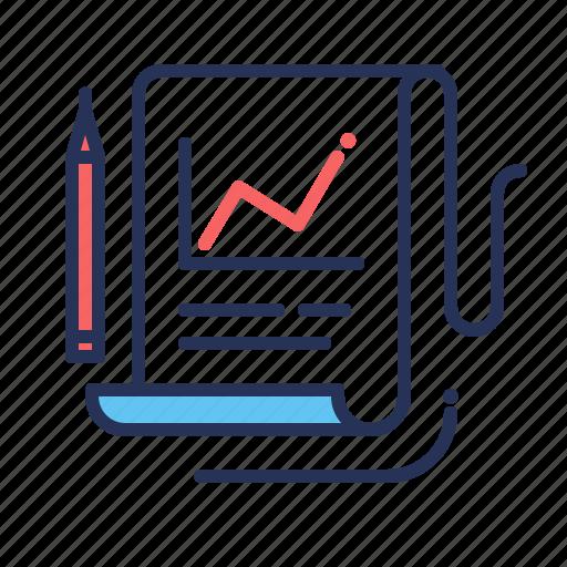 chart, diagram, graph, report, statistics icon