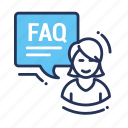 faq, ask, information, support, question, communication