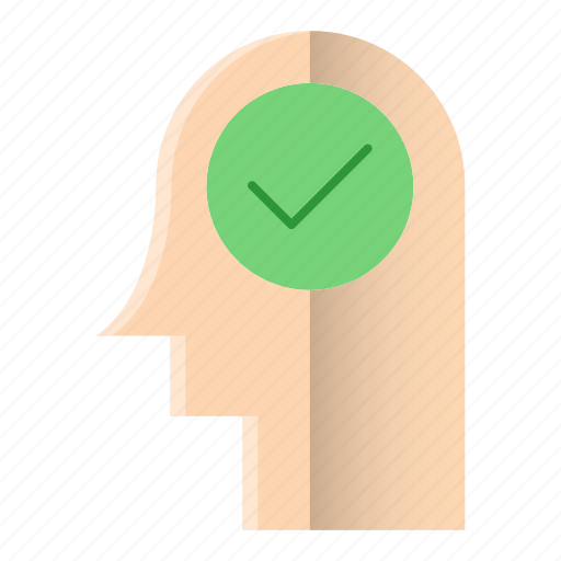 approved, business, checkmark, creative, idea icon