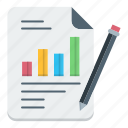 business, chart, file, growth, paper, report icon