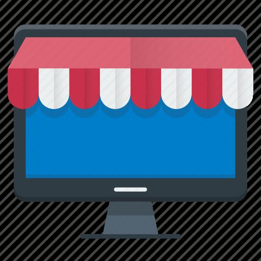 ecommerce, market, shopping, store icon