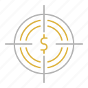 business, funds, hunting, money icon