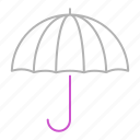 business, insurance, umbrella icon
