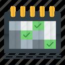 calendar, event, management, planning, schedule icon