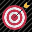 bullseye, focus, goal, target