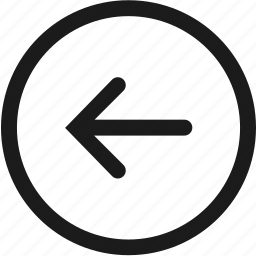 arrow, direction, internet, left, multimedia, navigation, web icon