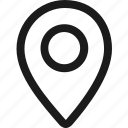 base, gps, location, map marker, marker, navigation, pin icon