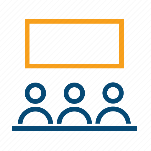 class, conference, lecture, master class, onboarding, seminar, teaching, training, workshop icon
