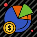 chart, pie, statistics