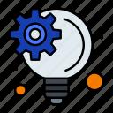 idea, innovative, management, process icon