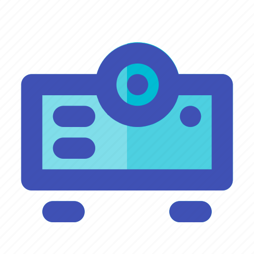 business, career, device, lumens, management, presentation, projector icon