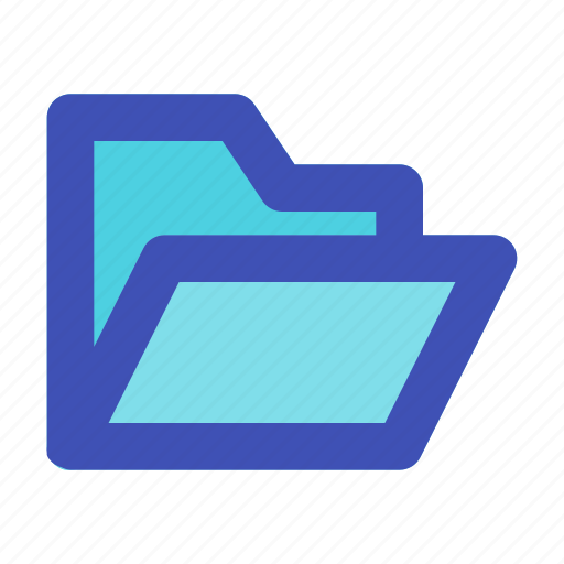 archive, business, career, document, folder, management, open icon