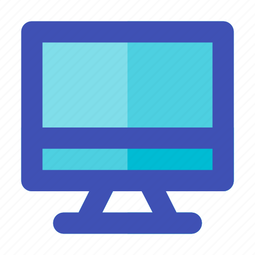 business, career, computer, mac, management, monitor, multimedia icon