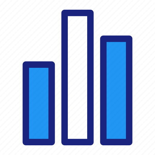 analytic, bar, business, chart, data, management, office icon