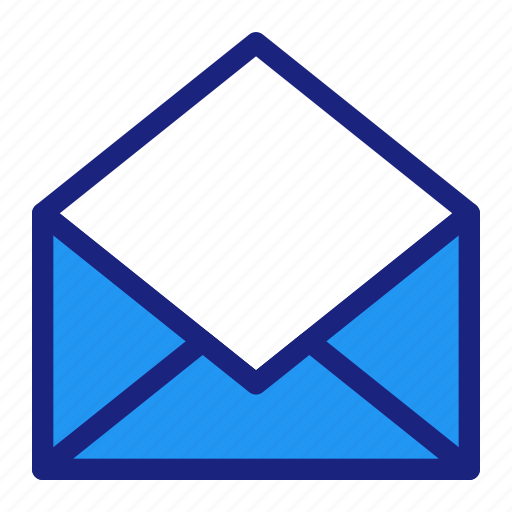 business, inbox, mail, management icon