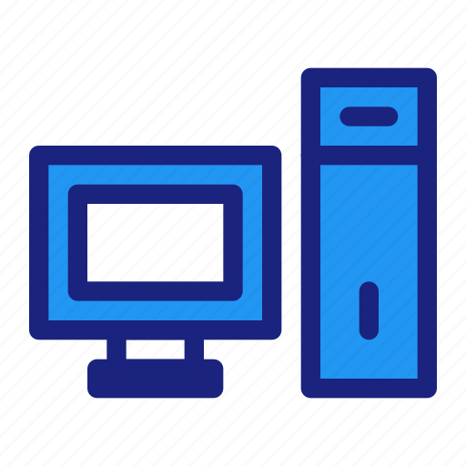 business, computer, management, monitor, pc, personal, technology icon