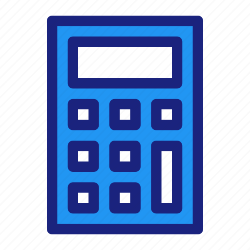 business, calculator, management, math, office, shopping icon