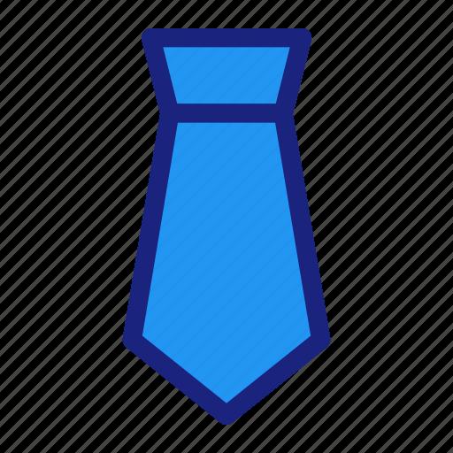 business, management, office, suit, tie icon