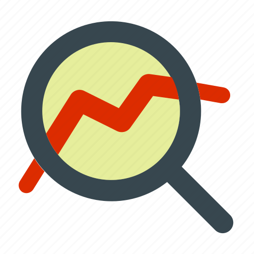 business, forecast, management, market, research icon