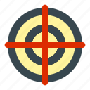 business, management, marketing, target icon